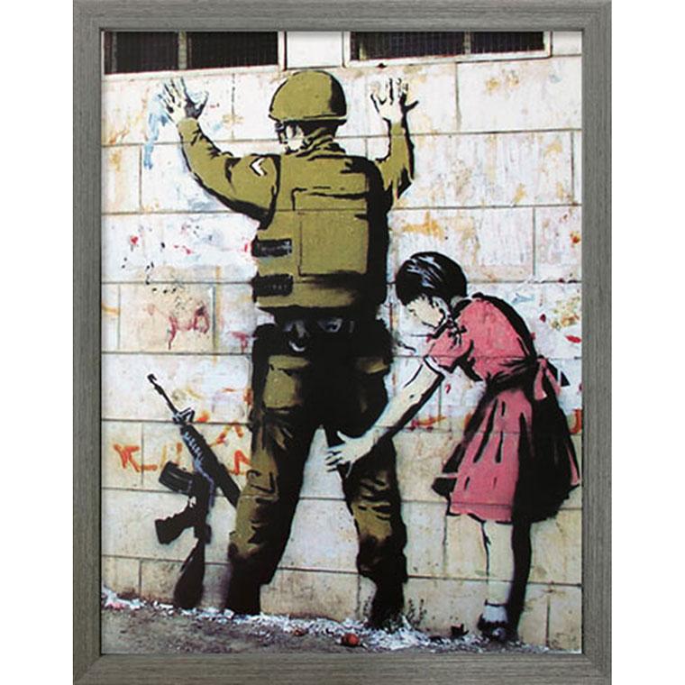 バンクシー Banksy ポスター アートパネル 絵画 インテリア アートポスター 壁掛け アートフレーム タペストリー プリントポスター デザイナー おしゃれ シンプル モダン IBA-61731