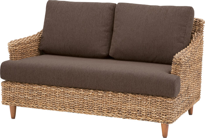 Ly Woven Abaca Material Curved Sofa Resort Style Two Seat People Hang The Couch 05p10jan15 2 P