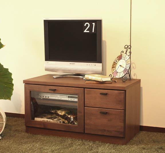 【日本製 完成品 幅80cm】ワンルームのお部屋にも設置できるコンパクトサイズ テレビボード テレビ台 ローボード 北欧 おしゃれ 木製★グロース80AVボード(ウォールナット)AV収納 北欧 【02P03Dec16】