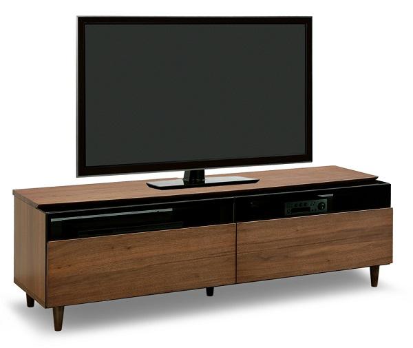 テレビボード TVボード ローボード AV収納 収納 キャビネット 幅160 160 大型 テレビ台 日本製 完成品 木製 ガラス モダン ナチュラル 北欧 ブラウン 売れてる シリーズ ソニン155TV BR 02P03Dec16