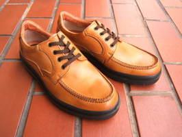 ビジネス&カジュアルで使える男の機能シューズ!ARUKURUN/アルクラン 紳士靴 レースアップ Uチップ AR-3301 キャメル 送料無料