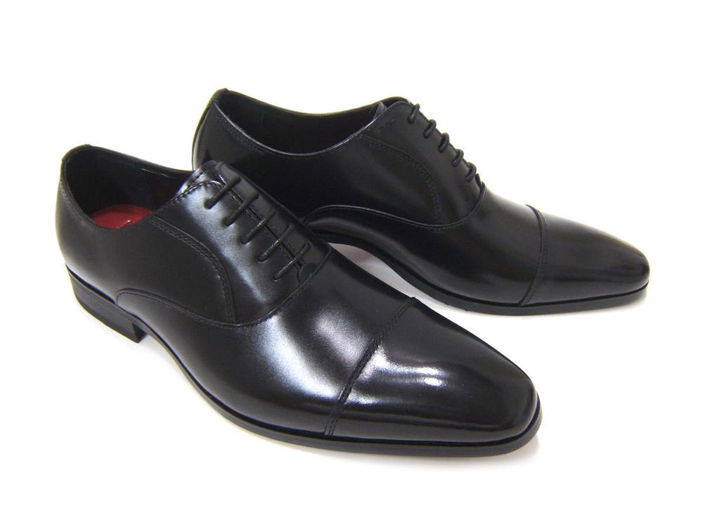 イタリアンモードにこだわったロングノーズ!カルロメディチ 紳士靴 ブラック ストレートチップカジュアル ビジネス 送料無料 ロングノーズモデル CJ-3121 ブラック