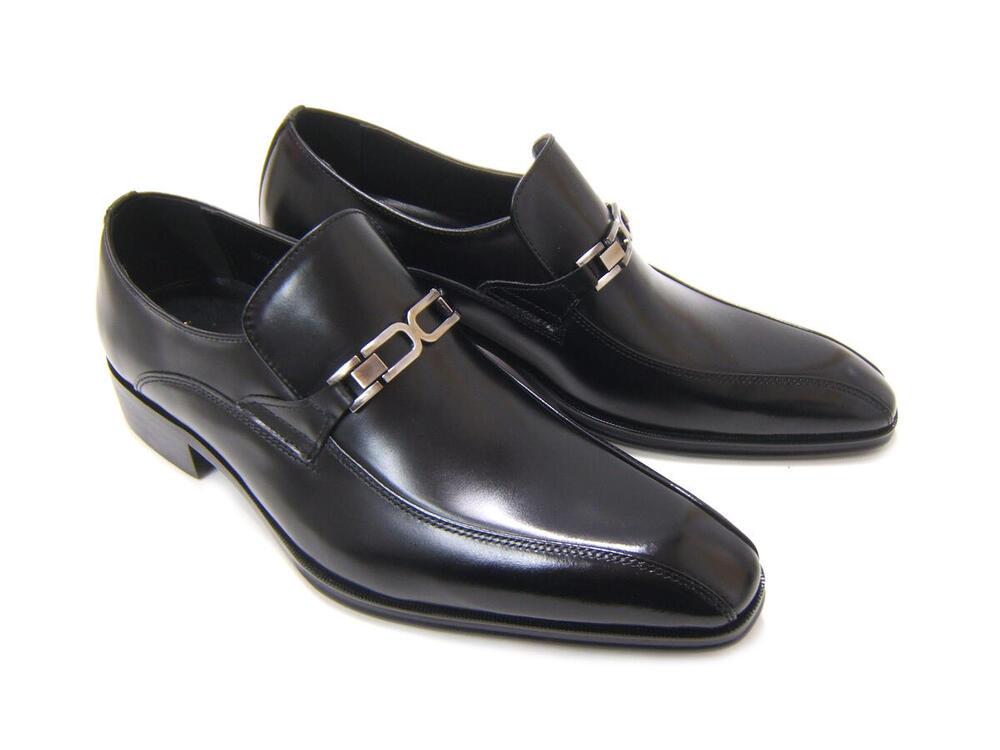 イタリアンモードで上品かつスマートな紳士靴!アントニオ ドュカッティ/ANTONIO DUCATI 紳士靴 DC-1182 ブラック スワールモカ スリップオン ビット付き 送料無料