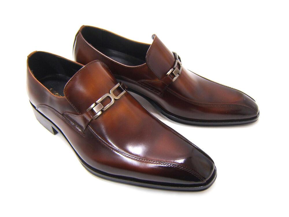 イタリアンモードで上品かつスマートな紳士靴!アントニオ ドュカッティ/ANTONIO DUCATI 紳士靴 DC-1182 ダークブラウン スワールモカ スリップオン ビット付き 送料無料