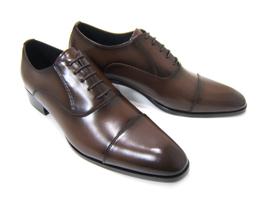 パーティーや結婚式♪艶やかで華がある足元を演出!フランコ ルッチ トラディショナル/FRANCO LUZ TRADITIONAL TH-56 ダークブラウン 紳士靴 ストレートチップ 内羽根 送料無料