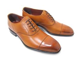 ビジネスにパーティーに♪大人の魅力溢れる足元を!フランコ ルッチ/FRANCO LUZ FL1050-LBR ライトブラウン 紳士靴 ストレートチップ ビジネス パーティ 送料無料