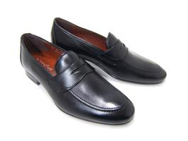 新提案のオン&オフで魅せるローファースタイル♪フランコ ルッチ/FRANCO LUZ FL1060-BLK ブラック 紳士靴 ローファー ビジネス パーティ カジュアル 送料無料