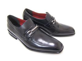 内張りにワンポイントのワインレッドが良く映える♪HIROKO KOSHINO/ヒロコ コシノ ビジネス HK130IZA紳士靴 ブラック スワールモカ ビット(金具)付き ロングノーズ3Eワイズ ビジネス 送料無料