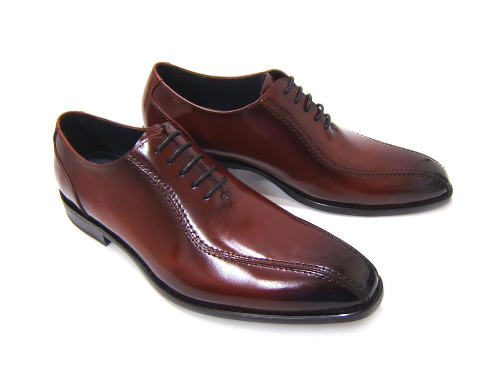 上品なスワールモカデザインが魅力的!HIROKO KOSHINO/ヒロコ コシノ ビジネス紳士靴 HK3203A-BROWN ブラウン スワールモカ ロングノーズ 内羽根 3Eワイズ ビジネス 送料無料