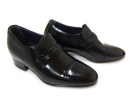 4cm+2cmのさり気ないシークレットシューズ♪NORDINI/ノルディーニ BU-531 ブラック 紳士靴 シークレット スタイルアップ 背が高くなる靴 ビジネス 送料無料