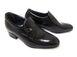 4cm+2cmのさり気ないシークレットシューズ♪NORDINI/ノルディーニ BU-3320 ブラック 紳士靴 シークレット スタイルアップ 背が高くなる靴 ビジネス 送料無料