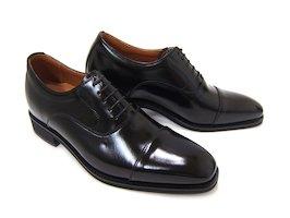 3cm+3cmでビジネスデザインのスタイルアップ!NORDINI ANCIEN CREPINS/ノルディーニ アンシャンクレパン BU-1301 ブラック 紳士靴 ストレートチップ シークレット スタイルアップ 背が高くなる靴 ビジネス 結婚式 フォーマル 送料無料