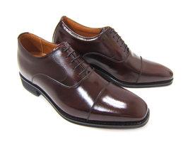 3cm+3cmでビジネスデザインのスタイルアップ!NORDINI ANCIEN CREPINS/ノルディーニ アンシャンクレパン BU-1301 ワイン 紳士靴 ストレートチップ シークレット スタイルアップ 背が高くなる靴 ビジネス 結婚式 フォーマル 送料無料