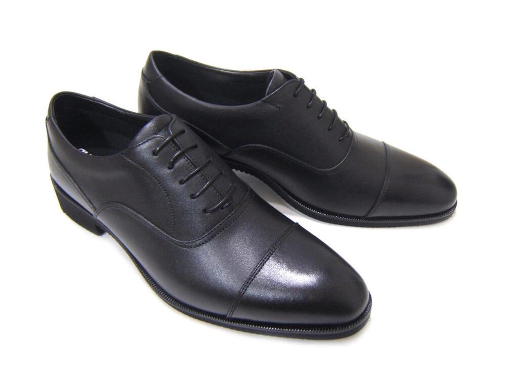 ビブラムソール搭載の軽量ビジネスシューズ!RUN&FAN/ラン アンド ファン ストレートチップ 内羽根 紳士靴 ビジネスシューズ 送料無料 フレッシャーズ フォーマル ポイント10倍