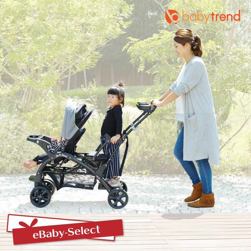 BabyTrend(ベビートレンド) シットアンド スタンド ダブル   ピスタチオ  ベビーカー 双子 二人乗り