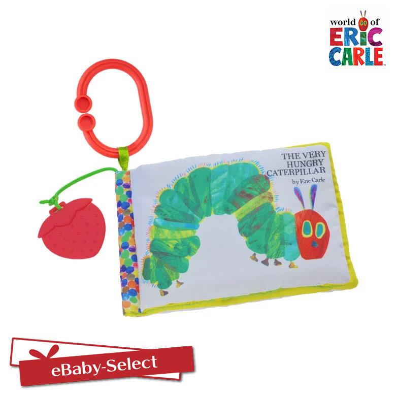 はらぺこあおむし おもちゃ 知育玩具 EricCarle(エリックカール) はらぺこあおむし どこでもソフトブック(C型リング付き) おもちゃ グッズ