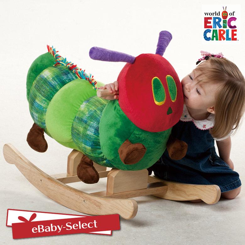 EricCarle(エリックカール) はらぺこあおむし あおむしロッキング 木馬 おもちゃ のりもの 乗り物 ロッキング おもちゃ グッズ
