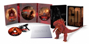 GODZILLA ゴジラ[2014]S.H.MonsterArts GODZILLA ゴジラ[2014]Poster Image Ver.同梱(初回限定版)(Blu-ray Disc)