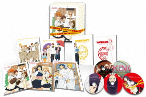 WORKING'!!Wonderful★Blu-ray Box(完全生産限定版)(Blu-ray Disc)