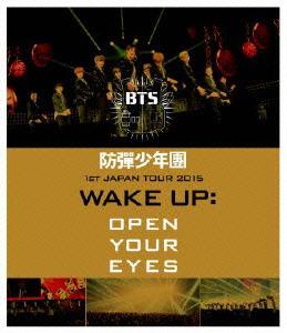 防弾少年団/1st JAPAN TOUR 2015「WAKE UP:OPEN YOUR EYES」(Blu-ray Disc)