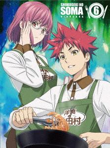 食戟のソーマ 弐ノ皿6(初回仕様版)(Blu-ray Disc)
