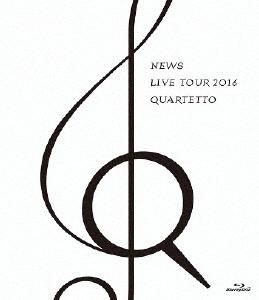NEWS/NEWS LIVE TOUR 2016 QUARTETTO(通常盤)(Blu-ray Disc)