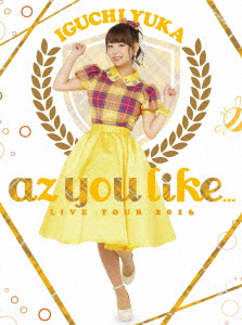 2nd LIVE TOUR 2016 az you like...(初回仕様版)(Blu-ray Disc)