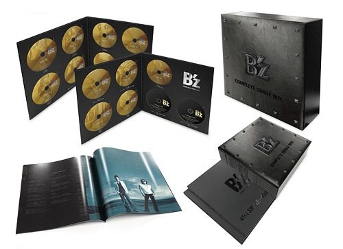 B'z/B'z COMPLETE SINGLE BOX(Black Edition)(2DVD付)