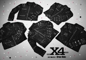 X4/X4 LIVE TOUR 2017 -Xross Mate-(Blu-ray Disc)