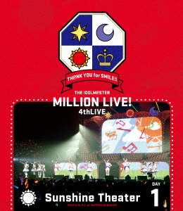 /THE IDOLM@STER MILLION LIVE! 4thLIVE TH@NK YOU for SMILE! LIVE Blu-ray DAY1(Blu-ray Disc)