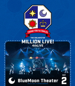 /THE IDOLM@STER MILLION LIVE! 4thLIVE TH@NK YOU for SMILE! LIVE Blu-ray DAY2(Blu-ray Disc)