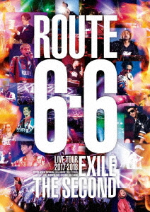 "EXILE THE SECOND/EXILE THE SECOND LIVE TOUR 2017-2018 ""ROUTE 6・6""(通常盤)(Blu-ray Disc)"