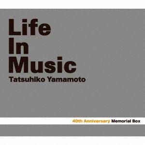 山本達彦/Tatsuhiko Yamamoto 40th Memorial Box 「LIFE IN MUSIC」(Blu-ray Disc付)