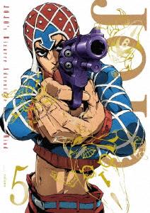 ジョジョの奇妙な冒険 黄金の風 Vol.5(初回仕様版)(Blu-ray Disc)