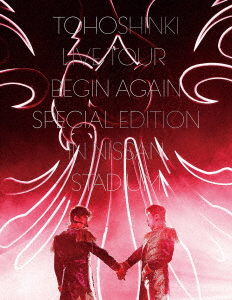 東方神起/東方神起 LIVE TOUR ~Begin Again~ Special Edition in NISSAN STADIUM(初回生産限定盤)(Blu-ray Disc)