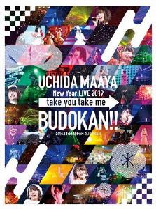 内田真礼/UCHIDA MAAYA New Year LIVE 2019「take you take me BUDOKAN!!」(Blu-ray Disc)