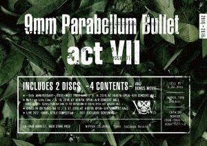 9mm Parabellum Bullet/act VII