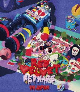 """Red Velvet/Red Velvet 2nd Concert """"REDMARE"""" in JAPAN(Blu-ray Disc)"""