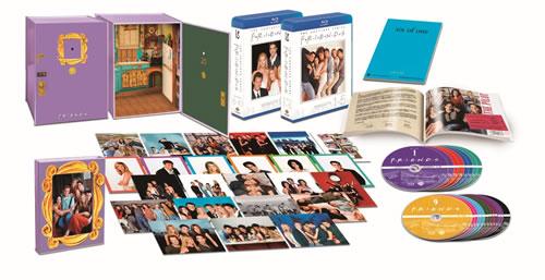 フレンズ<シーズン1-10>全巻Blu-rayプレミアムBOX【数量限定】(Blu-ray Disc)