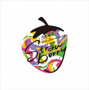 "NEWS/NEWS 15th Anniversary LIVE 2018 ""Strawberry""(初回仕様)(Blu-ray Disc)"