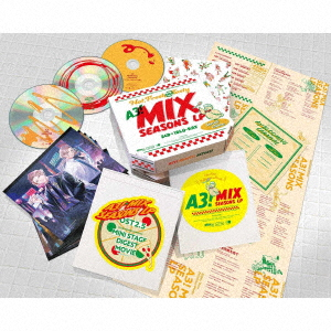 A3! MIX SEASONS LP(SPECIAL EDITION)(Blu-ray Disc付)