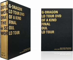 G-DRAGON(from BIGBANG)/G-DRAGON WORLD TOUR DVD[ONE OF A KIND THE FINAL in SEOUL+WORLD TOUR]