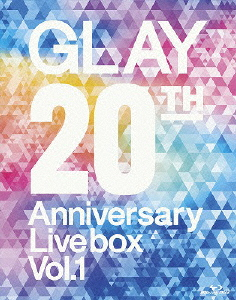 GLAY/GLAY 20th Anniversary LIVE BOX VOL.1(Blu-ray Disc)