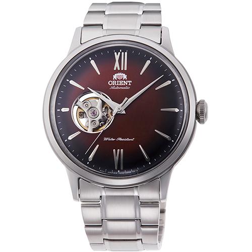 【長期保証付】オリエント RN-AG0016Y クラシック セミスケルトン 機械式時計 (メンズ)