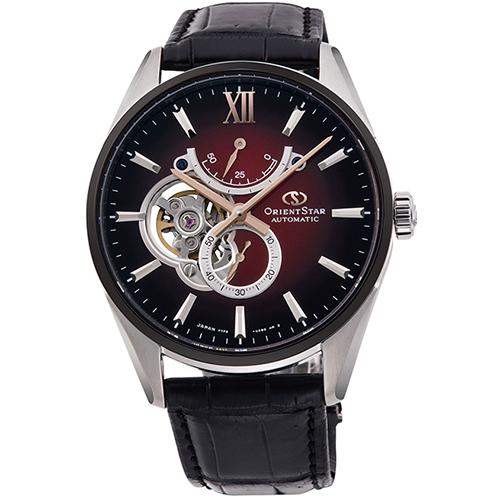 【長期保証付】オリエント RK-HJ0004R Orient Star(オリエントスター) スリムスケルトン 機械式時計 (メンズ)