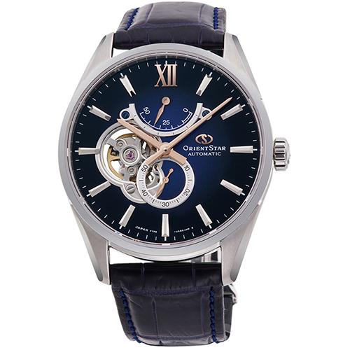 オリエント RK-HJ0005L Orient Star(オリエントスター) スリムスケルトン 機械式時計 (メンズ)