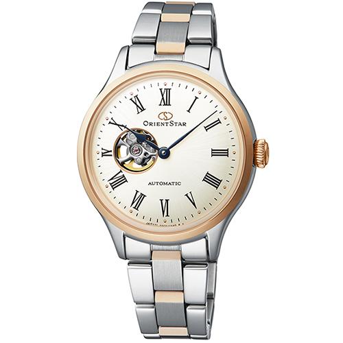 【長期保証付】オリエント RK-ND0001S Orient Star クラシック セミスケルトン 機械式時計 (メンズ)