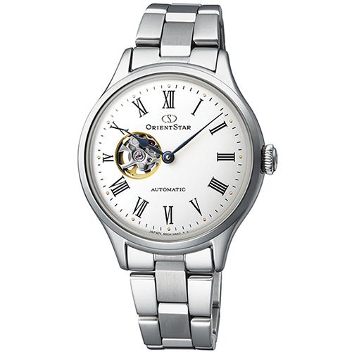 オリエント RK-ND0002S Orient Star クラシック セミスケルトン 機械式時計 (メンズ)