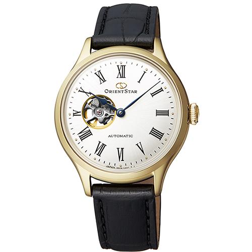 【長期保証付】オリエント RK-ND0004S Orient Star クラシック セミスケルトン 機械式時計 (メンズ)