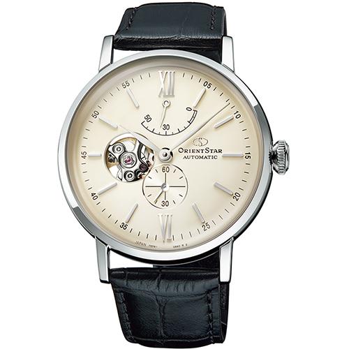【長期保証付】オリエント RK-AV0002S Orient Star クラシック セミスケルトン 機械式時計 (レディース)
